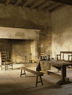 La Maison Boheme, rustic living.