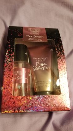 Victoria secret gift set, new Victoria Secret Fragrances, Victoria Secret Perfume, Perfume Organization, Fragrance Lotion, Clear Skin Tips, Perfume Collection, Hand Lotion, Body Spray, Beauty Tips