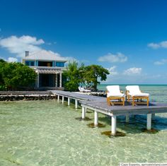 Cayo Espanto - 5 Star resort in the Caribbean Island of Belize
