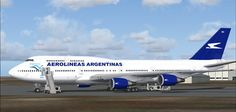 Aerolineas Argentinas -747 400
