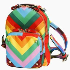 Rainbow of the Week: Valentino Resort 2015 Rainbow Shoes and Bags