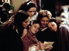 Little Women (1994) with Winona Ryder as Jo, Claire Danes as Beth, Kirsten Dunst as Amy, Trini Alvarado as Meg, Susan Sarandon as Marmee