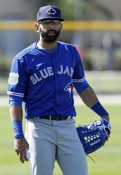 Toronto Blue Jays: Ross Atkins Denies Rift With Jose Bautista Baseball Tops, Baseball Girls, Sports Baseball, Baseball Wallpaper, Madison Bumgarner, Baseball Posters, Mike Trout, Sports Wallpapers, Sports Figures