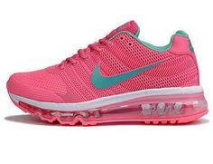 Nike Air Max 2017 pink peach women shoes