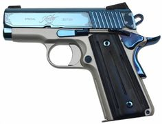 Kimber Sapphire Ultra II for concealed carry  I love this slide, beaver tail, safety, and pin