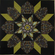 Kaleidoscope Swoon block.