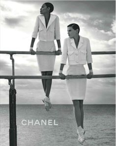Black and White Chanel Add