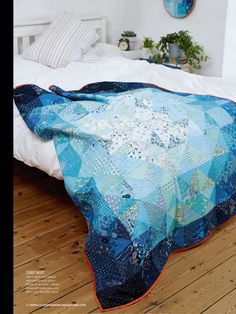 Blue Moon by Susan Standen - Love Patchwork & Quilting, Issue 25