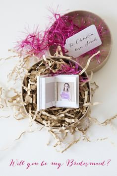 DIY // Fun new idea for popping the question to your besties ~ Will You Be My Bridesmaid? #yes!