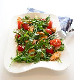 Salade saumon roquette