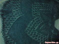 Мохеровые страсти на фоне деревенского пейзажа или Еще одна интерпритация блузы из мохера, теперь в виде платья