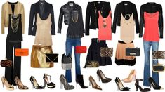 """""""Inverted Triangle body shape looks"""" by gabriela2105 on Polyvore"""