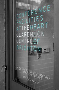 The Clarendon Centre Rebrand - Brighton Graphic Design Agency | Logo | Advertising | Website | Brochure