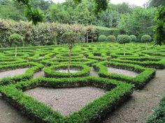 Moseley Hall - Knot garden developed in Tudor period
