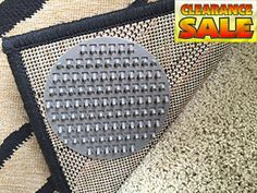 #furniture BRAND NEW! Carpet Anchor - Rug On CARPET Anti-Slip #Pads - 12 #Pack • Carpet Anchor's Spiked Pads Will Limit The Movement Of Rugs/Door Mats/Hall Runner...