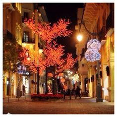Christmas in Lebanon.