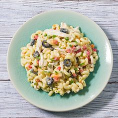 This Filipino Chicken Macaroni Salad recipe is a combination of chicken, pineapple, ham, macaroni, mayonnaise (not the sour variety) and condensed milk.