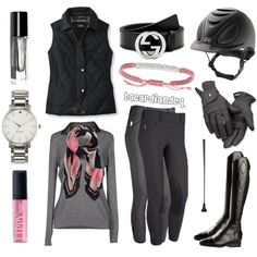 """Grey and Girly"" by bacardiandeq on Polyvore"