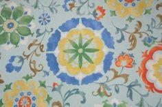 Mill Creek Sislo Printed Poly Outdoor Fabric in Sky $6.95 per yard
