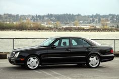 Mercedes Benz AMG E55: When it debuted it was the fastest sedan in the world.  But, what made it even better is it didn't look like it and that deceptiveness made it somehow even cooler.  All of the E55's have been cool, but my personal favorite was the early models (W210) because it came at a time when Mercedes was reinventing their look (again) and rounded front end somehow didn't match up with the classic Mercedes rear end and for some reason it makes for a cool look.