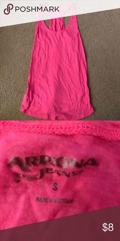 Pink Tank Too Pink Tank. Razorback. Arizona Jean Company Tops Tank Tops