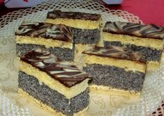 Poppy Cake, Mr Wonderful, Dessert Buffet, Winter Food, Tiramisu, Cookie Recipes, Cheesecake, Sweets, Cooking