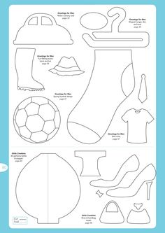 craft templates   FREE Birthday Card Ideas templates to download!   Papercraft ...