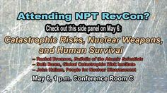 If you are attending the NPT Review Conference, be sure to catch our executive director, Rachel Bronson, at this side event. Our columnist Seth Baum will also be on the panel.