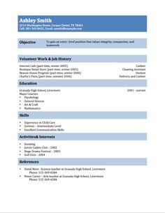 12 Free High School Student Resume Examples for Teens 12 Free High School Student Resume Examples for Teens First Resume Template for Teenagers Job Resume Samples, Sample Resume Templates, Cv Template, Letter Templates, Basic Resume, Resume Tips, Resume Ideas, Resume Help, Resume Cv
