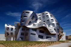 Cleveland Lou Ruvo Center for Brain Health Building by Frank Gehry