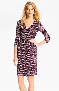 Diane von Furstenberg 'New Julian 2' Silk Wrap Dress (Online Exclusive) | Nordstrom