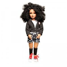 A new doll line of collectible multicultural dolls created to express every girl-from her fashion to her ethnicity to her brains.