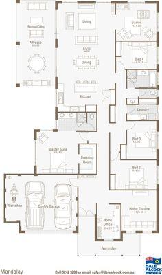 Mandalay Floorplan- Dale alcock