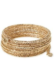 Bardot Spiral Bangle -- Loving this!  It goes round and round and round .....  Cant' wait for Mr UPS to deliver.