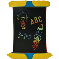 Create amazing masterpieces using cool, new styluses and doodle in bright colours with the new Scribble n' Play from Boogie Board! Great for drawing, playful doodles, and for a super fun homework helper as well!   http://www.mastermindtoys.com/Boogie-Board-Scribble-n-Play-LCD-eWriter.aspx