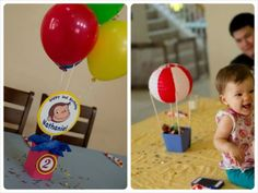 Storage Grace: Curious George 2nd Birthday Party