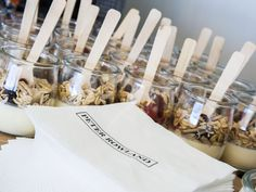 Cute muesli pots! #springracing #melbournecup #foodstyling #peterrowland #foodphotography #catering #events