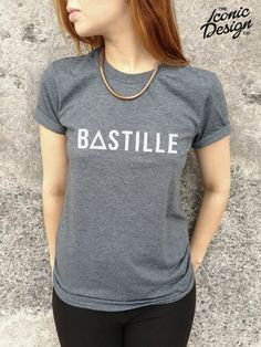 BASTILLE T-shirt Top Band Hipster TUMBLR Fashion Indie Rock Pop Pompeii Of The Night Punk on Etsy, $17.08