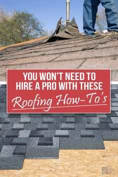Get step by step tutorials for simple roofing projects you can master without a pro! Save money and time with these easy tips on how to install asphalt shingles, valley flashing, and roof heating cables. Prevent ice dams, remove old shingles, and get pointers from the pros on how to keep your attic cool in those hot summer months. Click here and read The Exceedingly Comprehensive Guide To DIY Home Improvement for First-Time Homeowners and get started today!