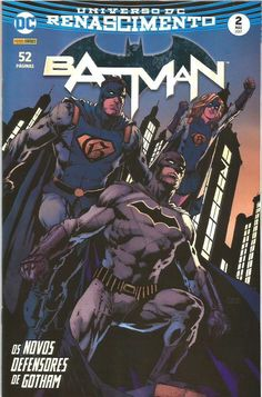 UNIVERSO DC RENASCIMENTO: BATMAN - 2