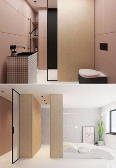 Gorgeous small minimalistic apartment