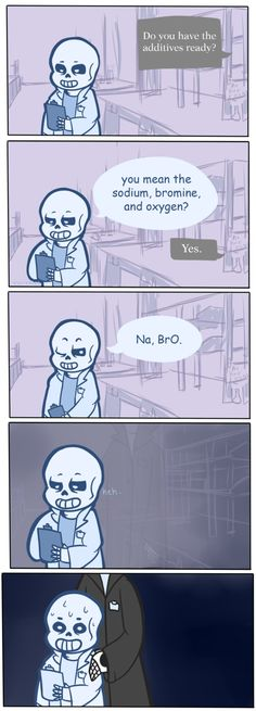 undertale, sans, gaster>>> science puns for the win<<<It took me a moment to get this XD Undertale Undertale, Undertale Comic Funny, Funny Shit, Funny Puns, Science Sans, Funny Science, Science Geek, Easy Science, Science Humor