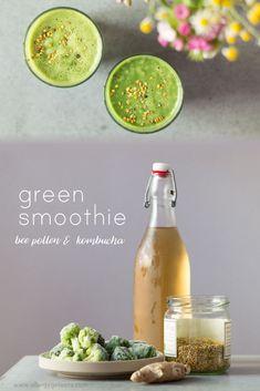 bee pollen & kombucha smoothie