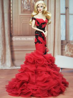 doll evening gowns eifel 85 / 12.30.3