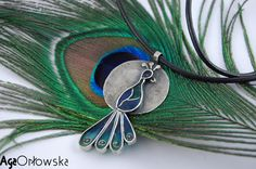 #necklace - silver, UV resine