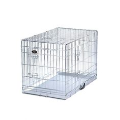 Our selection of dog cages / crates have non chewable metal trays. We will assist you in buying your dog cage making sure its right for you and your dog