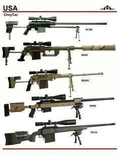 US sniper rifles