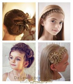 Braids for kids Hair hairstyle (Find us on: www.facebook.com/GreatLengthsPoland)