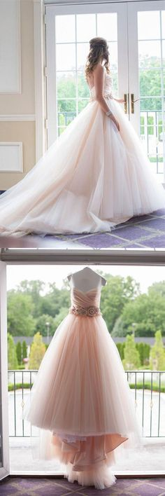 Charming Sweep Train Ball Gown Sweetheart Quinceanera Dresses Prom Dresses Z0762 #promdresses #promdress #promgowns #dresses #gowns #prom #eveningdresses #partydresses #womendresses #fashiondresses #long #elegant #modest #fashion  #charming #formal #classy #beautiful #simple #cheap #promdresses2018 #forteens #ballgownpromdresses #princessdresses #quinceaneradresses #sweetheart #strapless #sleeveless #tulle #champagne