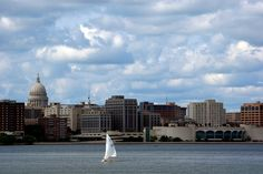Madison, Wisconsin - Summer in the U.: 20 Best Vacation Destinations Slideshow at Frommer's Best Vacation Destinations, Best Vacations, Vacation Ideas, Madison Wisconsin, Places To Travel, New York Skyline, World, Summer, Bucket
